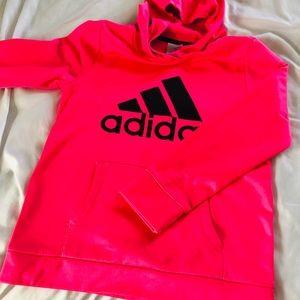 Adidas girls sweatshirt size L (14)